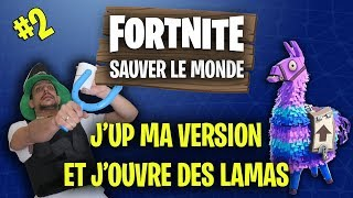 Fortnite Save the World - Lama Version Upgrade und Eröffnung (JACKPOT)