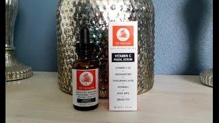 Review: OZ Naturals Vitamin C Serum!