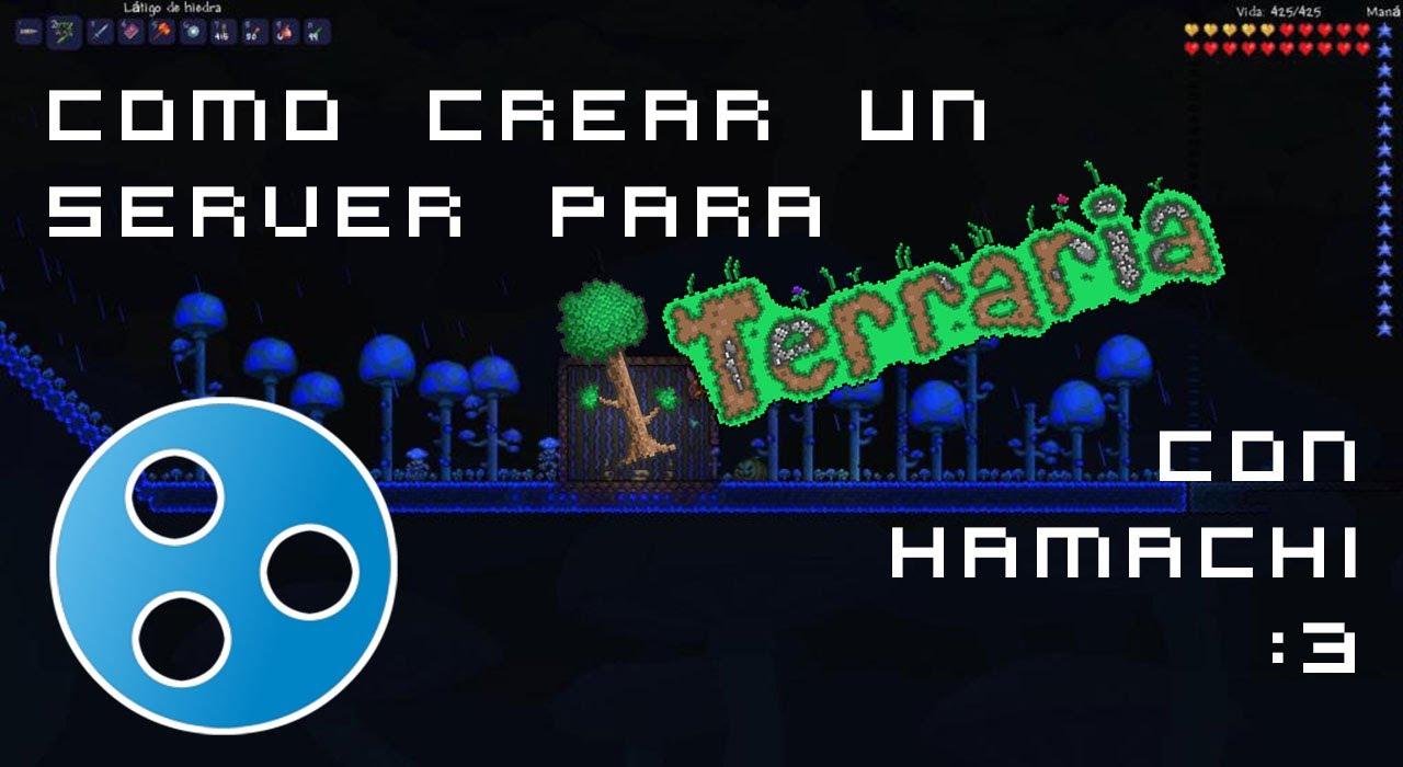 how to make a terraria server hamachi