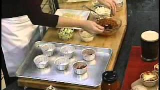 Kroger Creations With Chef Meg Galvin #39 (lasagna Cupcakes)