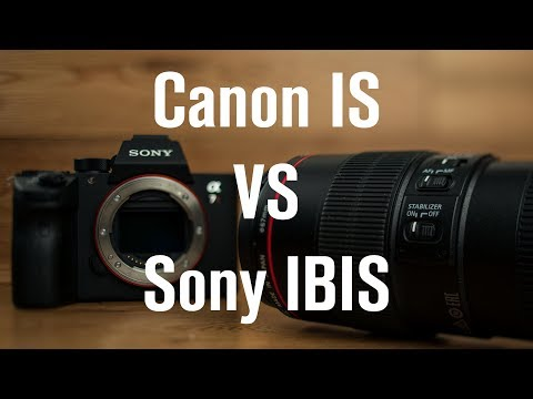 Sony In Body Stabilization vs Canon Image Stabilization Which Is Best: IBIS vs IS