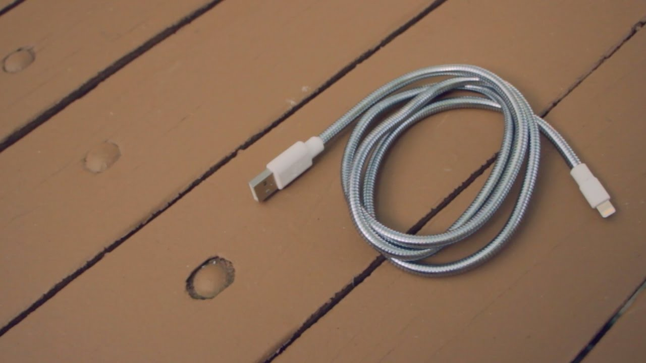 Fuse Chicken TITAN Lightning Cable Review - YouTube 297a5bbeee