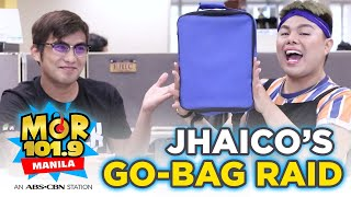 MOR Exclusives: JhaiCo's Go-Bag Raid & Earthquake Preparedness Tips!