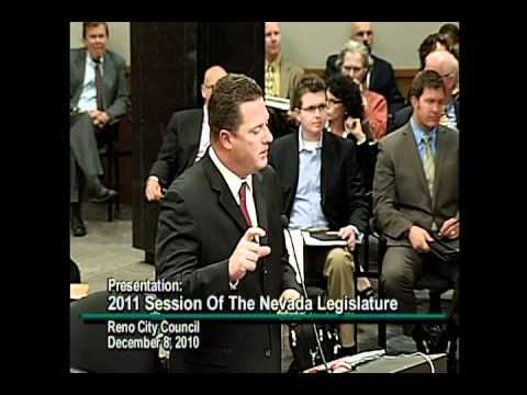 John Oceguera, Speaker of Nevada Assembly, on 2011 legislative session.
