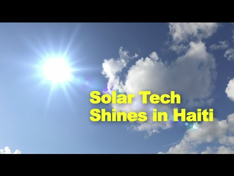 Sustainable energy: the impact of solar tech in rural clinics and low income settlements in Haiti