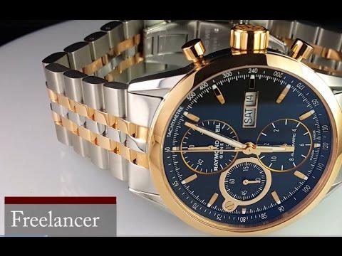72cb4b3bcc0 Raymond Weil Freelancer обзор часов