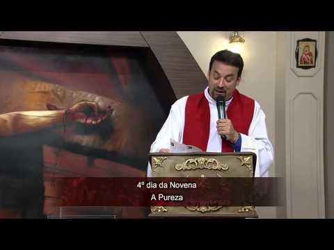 Novena das Mãos Ensanguentadas de Jesus 10/06/2014 - 4º dia: A Pureza