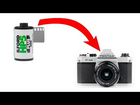 How to Load and Unload 35mm Film