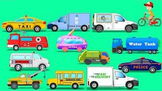 Street Vehicles | Toy Car | Video For Kids | Learn Transport