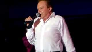 David Cassidy live at John Burns Park,Massapeque Park, NY  8/8/15