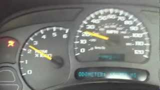 SOLVED: 2004 Chevy 2500HD Shifting / Speedo Problem