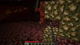 Minecraft - How to make Nether portal and a quick visit