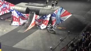 nitro circus 2016 live in glasgow 4 man backflip gone wrong