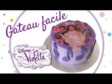 Faire un gateau violetta surprise violetta cake gateau facile youtube - Gateau surprise facile ...