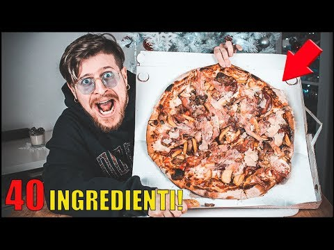 COSA SUCCEDE SE ORDINI UNA PIZZA A DOMICILIO CON 40 INGREDIENTI!