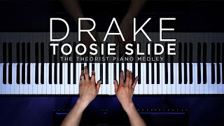 Baixar TOOSIE SLIDE but it will make you CRY - Drake | The Theorist Piano Cover