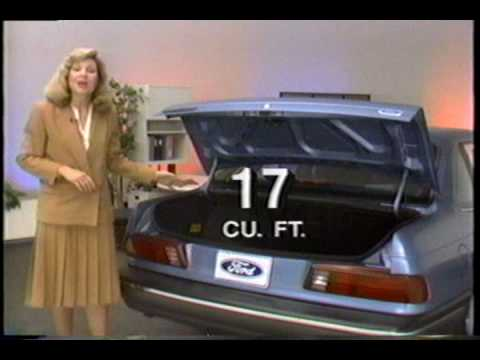 1989 Ford Taurus Dealer Training Video