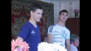 Песни от внуков на Золотой свадьбе в Слуцком р-не