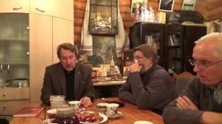 Встреча с писателем Юрием Воробьевским в Новосибирске