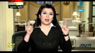 بكاء ونفاق منى الشاذلى بعد خطاب مبارك الثاني 1_2_2011