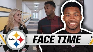Justin Layne on Draft, welcoming vibe in Pittsburgh, growing up a Browns fan   Steelers Face Time