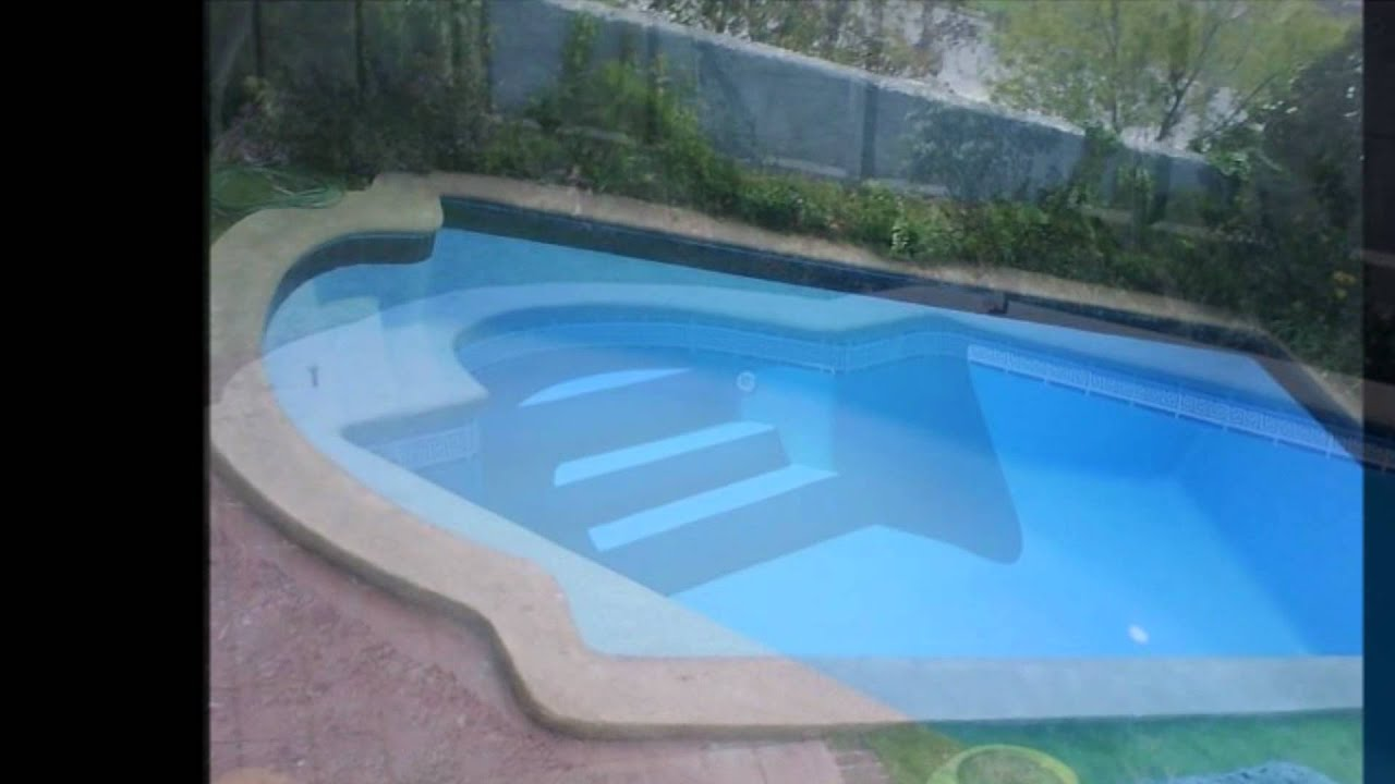 Piletas de fibra d j piscinas 00 youtube for Piscinas desmontables cuadradas