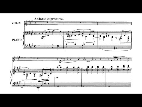 Amy Beach - Romance for violin and piano Op. 23 (audio + sheet music)