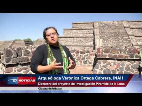Anuncian nuevos hallazgos en Teotihuacán. Podría ser paisaje lunar bajo Pirámide de la Luna