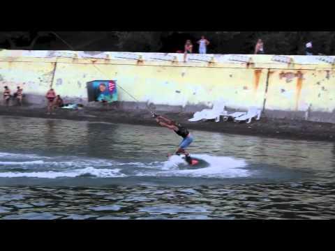 Odessa Sea wakeboarding