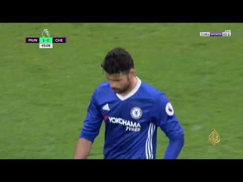 مانشستر يونايتد يهزم ضيفه تشلسي  - 12:21-2017 / 4 / 17