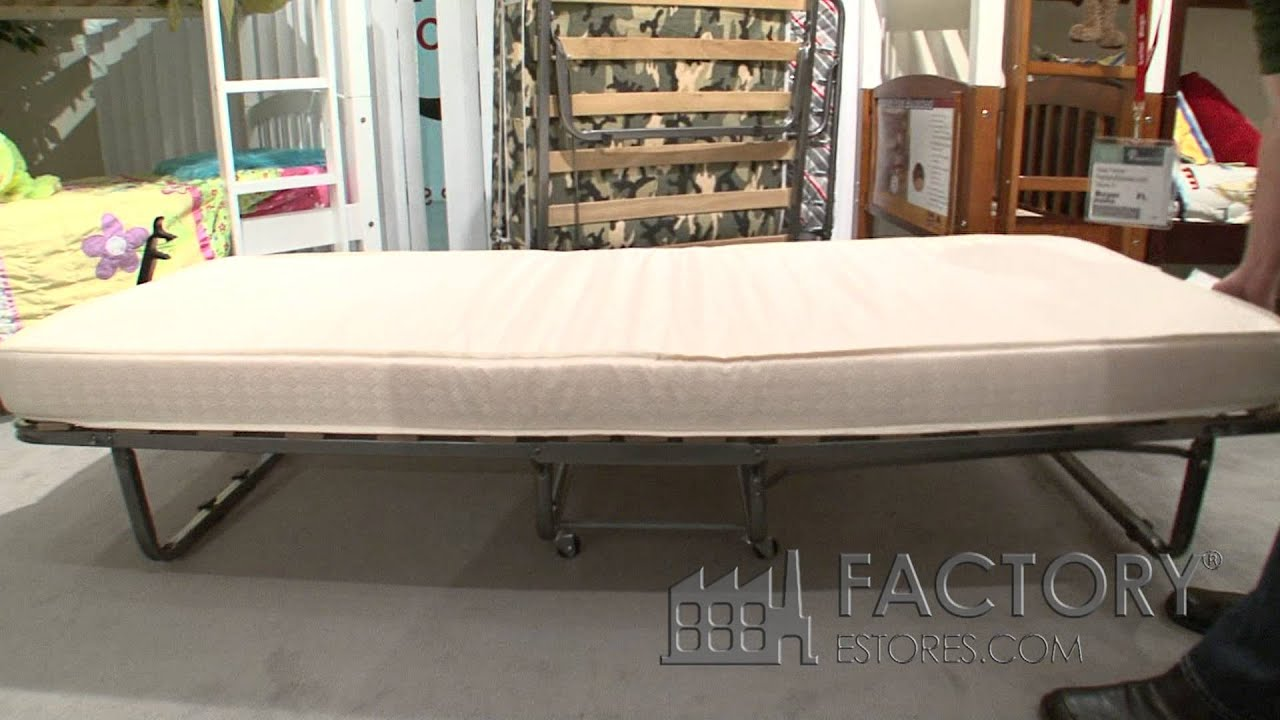 with shop trund bed rollaway folding fold mattress commercial afterpay