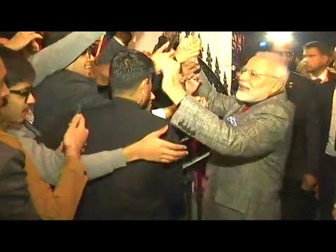 Watch: PM Modi meets Indian community in Stockholm