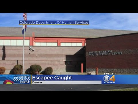 Juvenile Detention Escapee Captured
