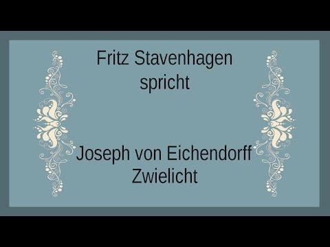 """Joseph von Eichendorff """"Zwielicht"""" I"""