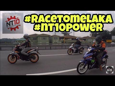 RACE TO MELAKA   NT10 POWER   RIDE AMAL   VLOG #120