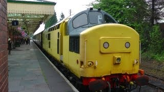 Great Central Railways,Steam,Diesel,Loughborough,Quorn,Rothley,Leicester,England,HD,2012.
