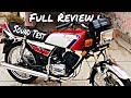 Kawasaki GTO 125cc Review|SoundTest|Topspeed