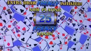 Tiny Handpay with Massive Tilt!! Extra Frenzy Draw Video Poker - Double Double Bonus