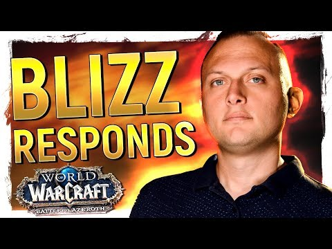 Blizzard Respond To BfA's Harshest Criticism, But Do They 'Get' It? Patch 8.1 Announced | News
