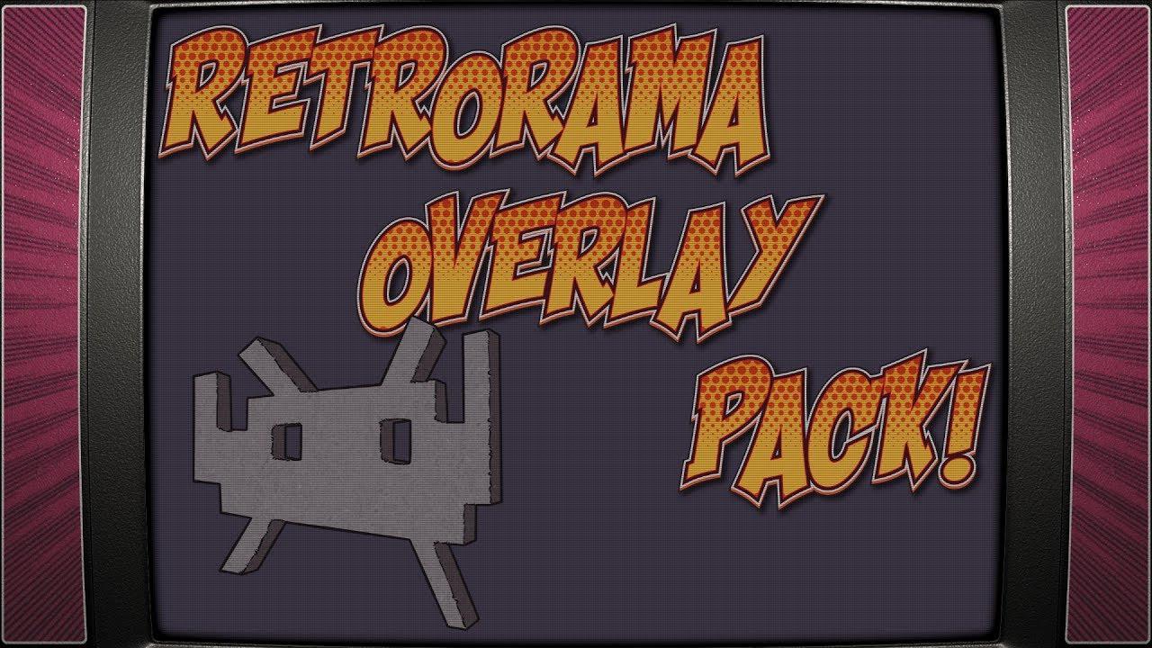 Retropie theme - Retrorama Overlay pack 1 0 by Phill's Doodles