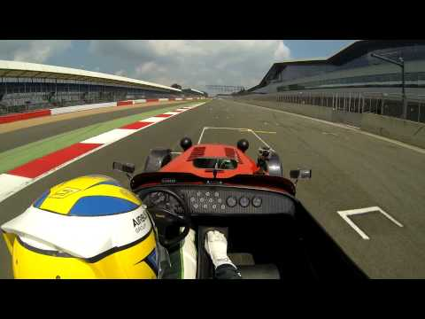 Lap of Silverstone with F1 driver Marcus Ericsson