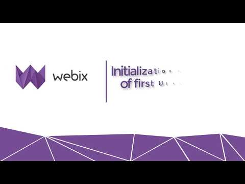 Webix Basics: Initialization and Creation of First UI Component