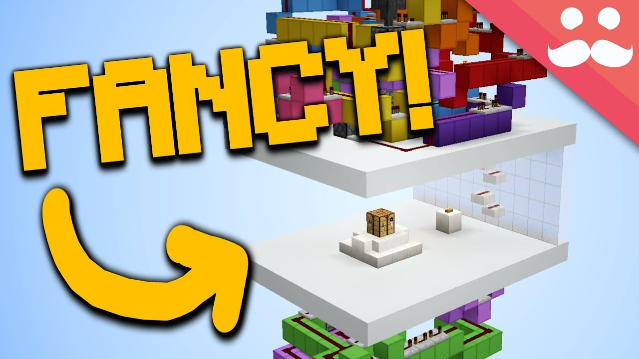 Fanciest Hidden Crafting Bench In Minecraft Youtube