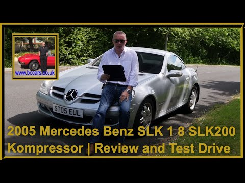 2005 Mercedes Benz SLK 1 8 SLK200 Kompressor | Review And Test Drive