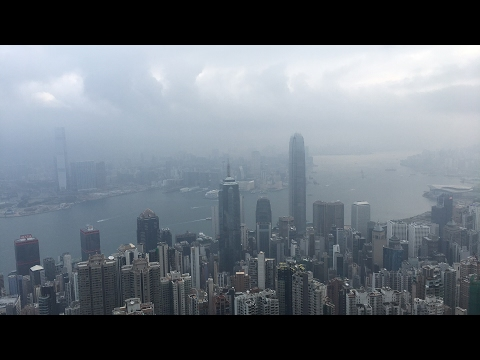 LIVE: Victoria's Peak Hong Kong on my morning walk in the city.