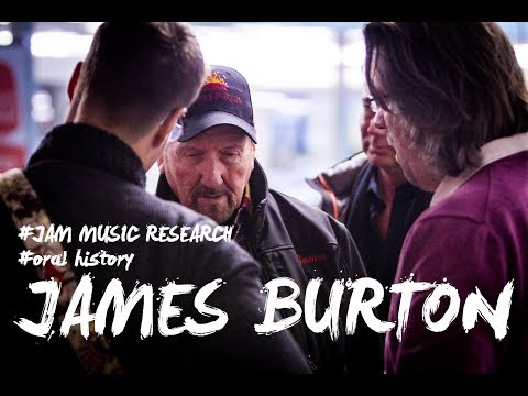 #JAM MUSIC RESEARCH - Interview with James Burton