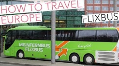Travel Europe - cheap ways to get around by bus, by plane or by train.