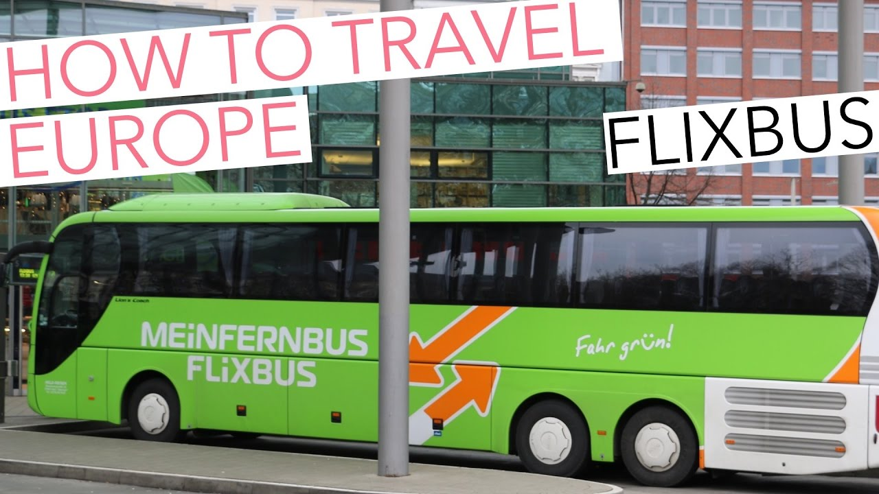 travel europe - cheap ways to get around by bus, by plane or by