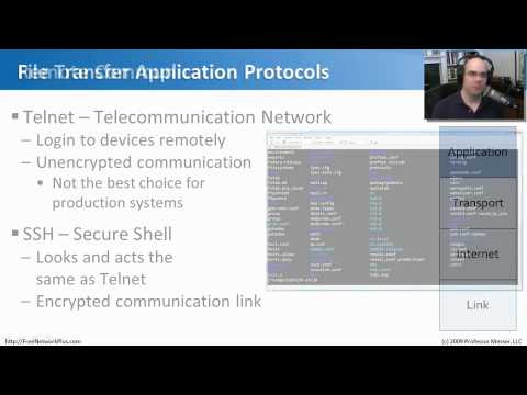 Common Application Layer Protocols - CompTIA Network+ N10-004: 1.1