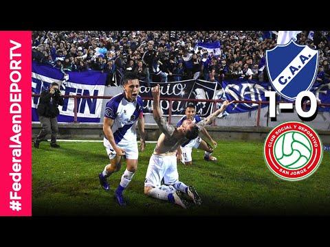 Alvarado (Mar del Plata) 1-0 San Jorge (Tucumán) - Resumen - Final (Vuelta) - Révalida - Federal A